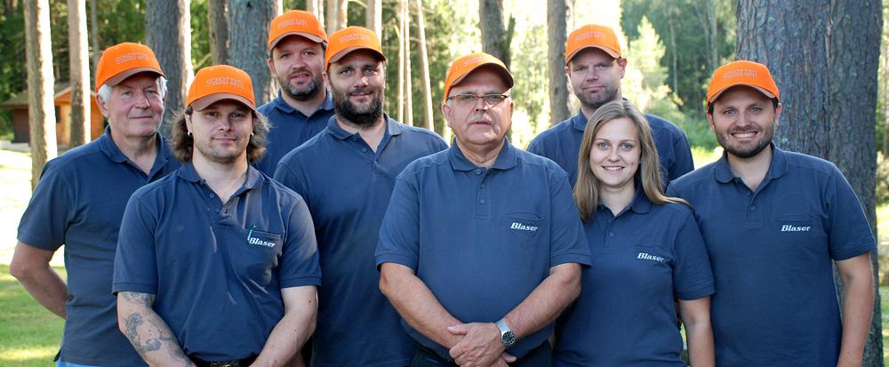 Schotter Küti Kaubad meeskond