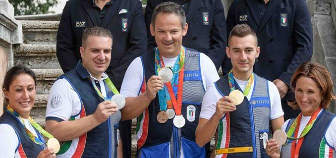 Beretta DT11 Edu Rio 2016 Olümpiamängudel