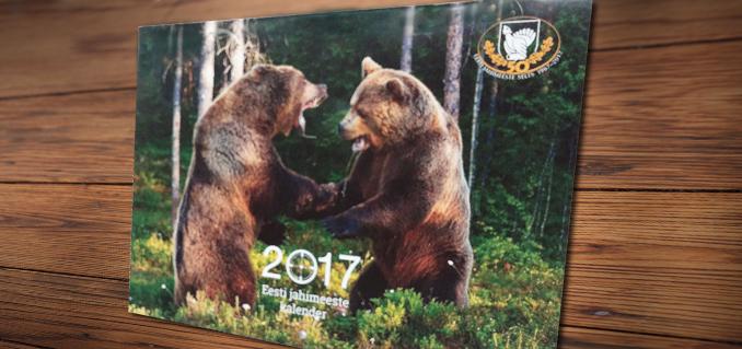 Eesti jahimeeste 2017 aasta kalender