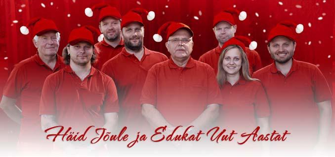 Häid Jõule ja Edukat Uut Aastat